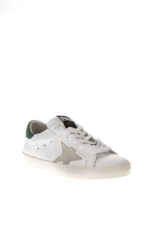 WHITE LEATHER SNEAKERS FW 2018 GOLDEN GOOSE DELUXE BRAND | 55 | G33MS5901G82