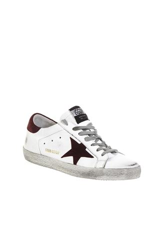 WHITE SUPERSTAR SNEAKERS IN LEATHER FW 2018 GOLDEN GOOSE DELUXE BRAND | 55 | G33MS5901H10
