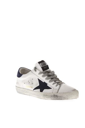 WHITE SUPERSTAR SNEAKERS IN LEATHER FW 2018 GOLDEN GOOSE DELUXE BRAND | 55 | G33MS5901H12