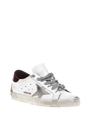 WHITE VINTAGE SUPERSTAR SNEAKERS IN LEATHER FW 2018 GOLDEN GOOSE DELUXE BRAND | 55 | G33MS5901H19