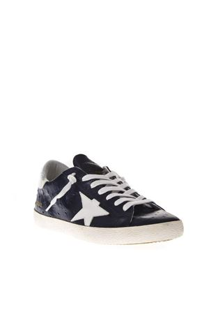 WHITE LEATHER AND SUEDE SNEAKERS FW 2018 GOLDEN GOOSE DELUXE BRAND | 55 | G33MS5901H99