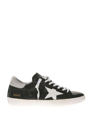 BLACK SUPERSTAR SNEAKERS IN LEATHER WITH WHITE DETAILS FW 2018 GOLDEN GOOSE DELUXE BRAND | 55 | G33MS5901L10