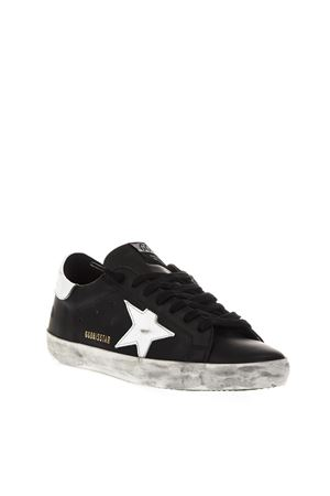 BLACK SUPERSTAR SNEAKERS IN LEATHER FW 2018 GOLDEN GOOSE DELUXE BRAND | 55 | G33MS5901L27