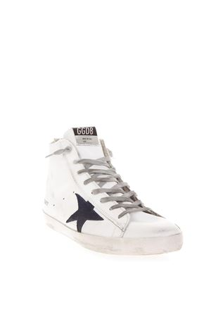 WHITE FRANCY SNEAKERS IN LEATHER FW 2018 GOLDEN GOOSE DELUXE BRAND | 55 | G33MS5911B39
