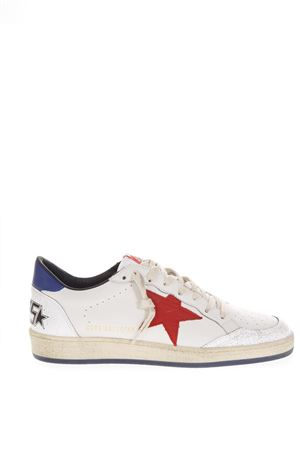 WHITE BALLSTAR SNEAKERS IN LEATHER FW 2018 GOLDEN GOOSE DELUXE BRAND | 55 | G33MS5921H8