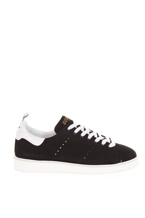 BLACK STARTER SNEAKERS IN SUEDE FW 2018 GOLDEN GOOSE DELUXE BRAND | 55 | G33MS6311N3