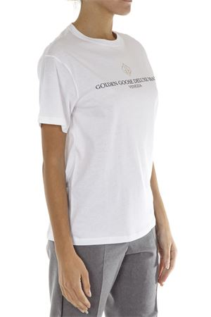 T-SHIRT IN COTONE BIANCO AI 2018 GOLDEN GOOSE DELUXE BRAND | 15 | G33WP0231A1