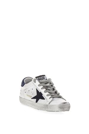 WHITE SUPER STAR SNEAKERS IN LEATHER FW 2018 GOLDEN GOOSE DELUXE BRAND | 55 | G33WS5901H12