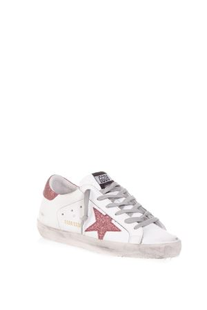 SNEAKERS SUPERSTAR BIANCA E FUCSIA IN PELLE  AI 2018 GOLDEN GOOSE DELUXE BRAND | 55 | G33WS5901H24