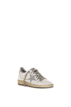 SNEAKER BALL STAR BIANCA EFFETTO VINTAGE AI 2018 GOLDEN GOOSE DELUXE BRAND | 55 | G33WS5921H3