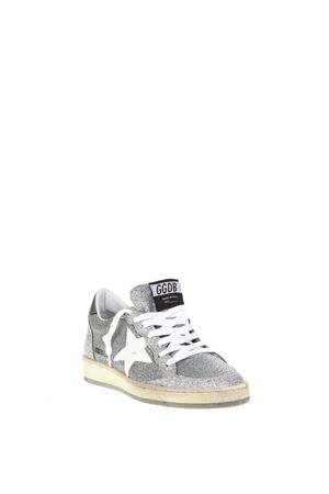 SILVER GLITTER BALL STAR SNEAKERS FW 2018 GOLDEN GOOSE DELUXE BRAND | 55 | G33WS5921O9