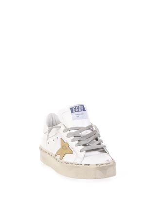 HI STAR WHITE LEATHER SNEAKERS FW 2018 GOLDEN GOOSE DELUXE BRAND | 55 | G33WS9451A7