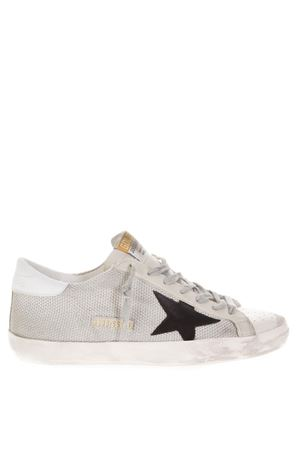 WHITE SUPERSTAR FABRIC & LEATHER SNEAKERS FW 2018 GOLDEN GOOSE DELUXE BRAND | 55 | GCOMS5901P9