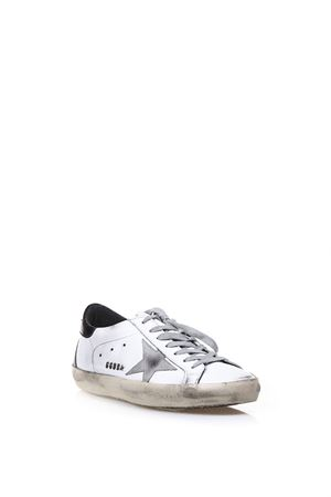 SUPERSTAR WHITE & GRAY LEATHER SNEAKERS FW 2018 GOLDEN GOOSE DELUXE BRAND | 55 | GCOMS5901W55