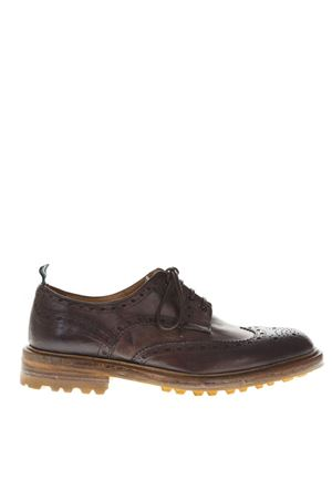 DARK BROWN LEATHER DERBY SHOES FW 2018 GREEN GEORGE | 208 | 0004MAREMMAMORO