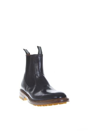 BLACK SHINY LEATHER ANKLE BOOTS FW 2018 GREEN GEORGE | 52 | 0010MAREMMANERO