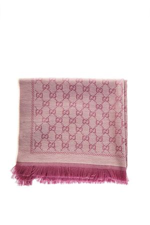 PINK GG SCARF IN MODAL FW 2018 GUCCI | 20 | 4111153G2009272