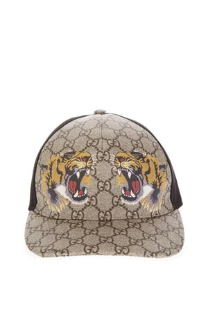 BASEBALL HAT WITH GG SUPRE AND TIGER PRINT FW 2018 GUCCI | 17 | 4268874HB132160