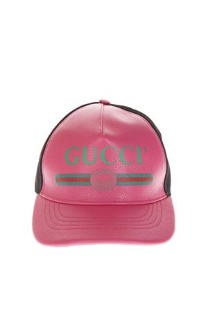 BASEBALL HAT COLOR PINK WITH LOGO GUCCI FW 2018 GUCCI | 17 | 4268874HD935660