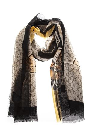 ICONIC BEE PRINT WOOL STOLE FW 2018 GUCCI | 20 | 4955124G2001075
