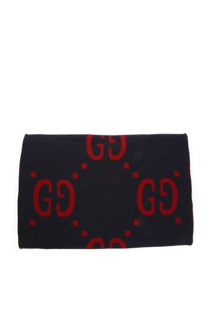1e7118483 ... BLUE & RED WOOL-SILK BLEND WITH GG LOGO FW 2018 GUCCI | 20