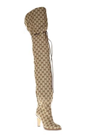 GG SUPREME OVER THE KNEE BOOTS FW 2018 GUCCI | 52 | 523513KY9V09770