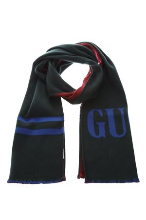 3b04470fa TWO COLORS WOOL SCARF WITH LOGO FW 2018 - GUCCI - Boutique Galiano