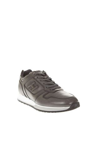 H321 BRUSHED LEATHER SNEAKERS FW 2018 HOGAN | 55 | HXM3210Y8507X7B612