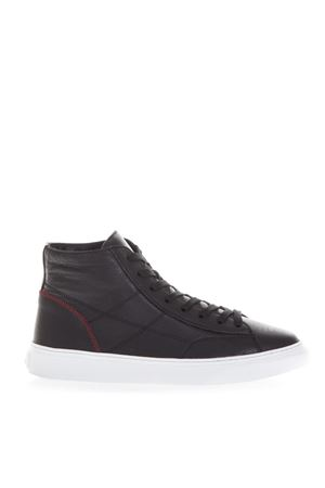 BLACK H365 SNEAKERS IN LEATHER FW 2018 HOGAN | 55 | HXM3650K702I7M0XCG