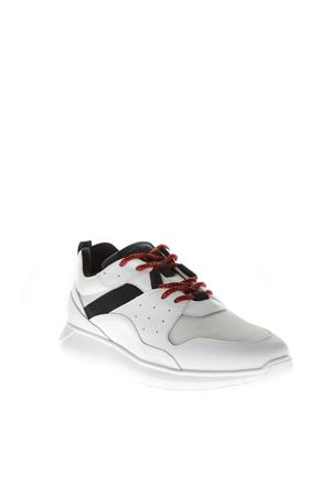 SNEAKERS INTERACTIVE IN PELLE BIANCO/NERO/ROSSO AI 2018 HOGAN | 55 | HXM3710AQ10JQY737F