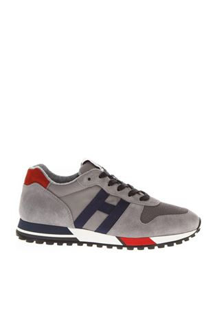 H383 GREY SUEDE & NYLON SNEAKERS FW 2018 HOGAN | 55 | HXM3830AN50JHM6EED