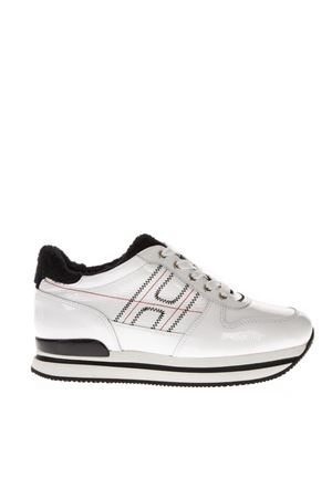 H222 SILVER PATENT LEATHER SNEAKERS FW 2018 HOGAN | 55 | HXW2220AO70JHZ0001
