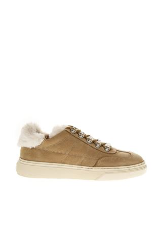 LIGHT BROWN NUBUK SNEAKERS HOGAN FW 2018 HOGAN | 55 | HXW3650J330JCL01BE