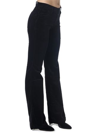 BLACK BELL BOTTOM VELVET HIGH WAIST JEANS FW 2018  J BRAND | 4 | 23021T635T635J3