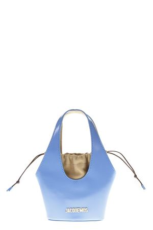 LIGHT BLUE LEATHER HANDBAG FW 2018 JACQUEMUS | 2 | 183BA02-18350330BLUE