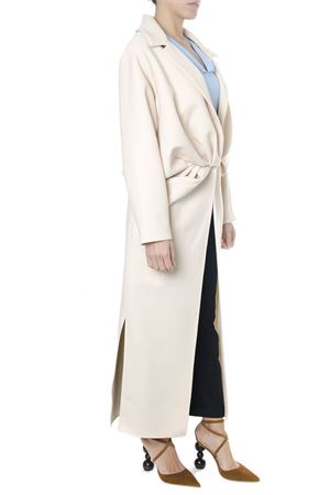 LONG WOOL BLEND BEIGE COAT FW 2018 JACQUEMUS | 31 | 183CO01-18303130BEIGE