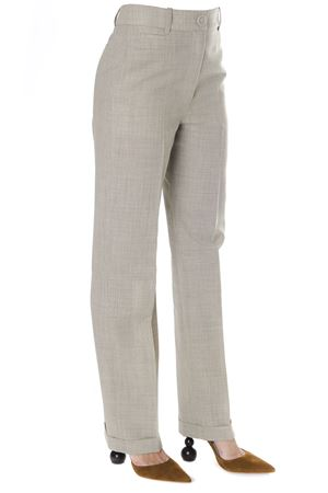 BEIGE HIGH RISE CHINO PANTS IN COTTON BLEND FW 2018 JACQUEMUS | 8 | 184PA03-184381901