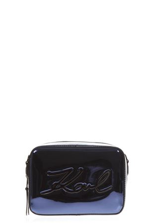 MIXED LAMINATED FABRIC LOGO SMALL BAG FW 2018 KARL LAGERFELD | 2 | 3039UNIA900