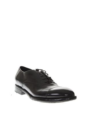 BLACK LEATHER FRANCESINA SHOES FW 2018 LEMARGO | 208 | AC15A1NERO
