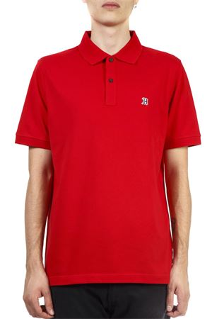 RED COTTON POLO SHIRT FW 2018 HILFIGER COLLECTION   11   MW0MW083001619