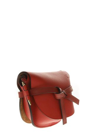 BORSA GATE IN PELLE COLOR ROSSO AI 2018 LOEWE | 2 | 321.12.T20GATE7016