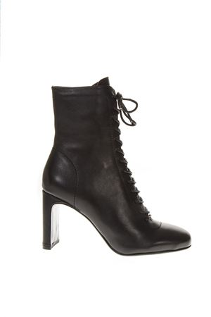 LULA BLACK LEATHER BOOTS FW 2018 LOLA CRUZ | 52 | 104T10BK-I18BOTINNEGRO