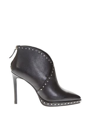 BLACK LEATHER BOOTIES FW 2018 LOLA CRUZ | 52 | 167T10BK-I18BOTINNEGRO