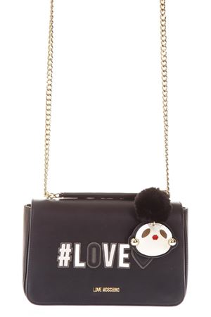 SMALL BLACK BAG WITH LOCKET DETAIL FW 2018/2019 LOVE MOSCHINO | 2 | JC4068PP16LKUNI0000