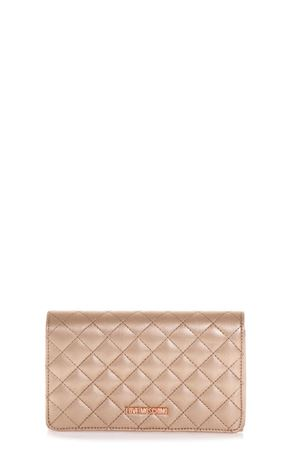 COPPER COLOR QUILTED FAUX LEATHER BAG FW 2018 LOVE MOSCHINO | 2 | JC4095PP16LOUNI0905