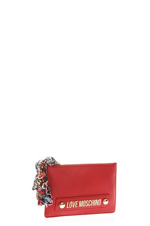 BORSELLO LOVE MOSCHINO ROSSO CON FOULARD AI 2018/2019 LOVE MOSCHINO | 2 | JC4124PP16LVUNI0500