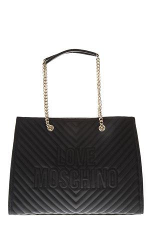 BLACK SHOULDER BAG FW 2018 LOVE MOSCHINO | 2 | JC4259PP06KI00001NERO
