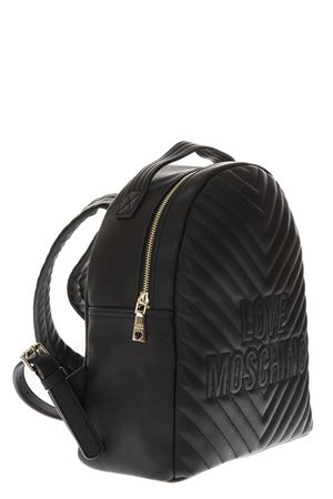 QUILTED BLACK BACKPACK FW 2018 LOVE MOSCHINO | 183 | JC4263PP06KI00001NERO