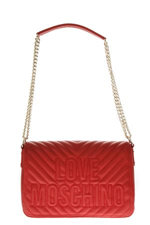 RED QUILTED BAG FW 2018 LOVE MOSCHINO | 2 | JC4264PP06KI05001ROSSO