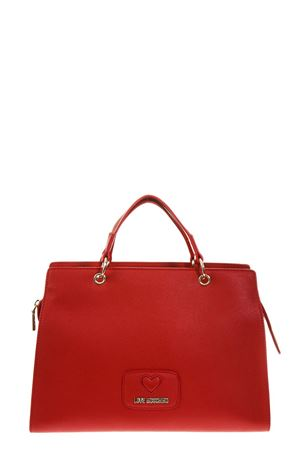 RED FAUX LEATHER HAND BAG FW 2018 LOVE MOSCHINO | 2 | JC4281PP06KLUNI0500